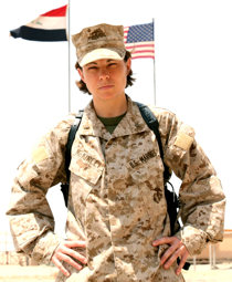 July 26, 2009 - Most second lieutenants serving in the Marine Corps are right out of college or have prior enlisted service. But at 31 and having lived through more real-life experiences than the majority of her peers, 2nd Lt. Suzie McKinley has finally found her calling as a Marine Corps officer.