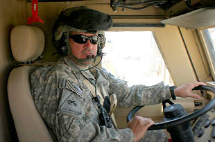 After a 17-year break in service, Sgt. Billy Willingham enlisted in the Army as a motor transport operator.