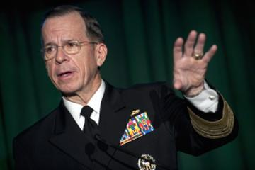 "Navy Adm. Mike Mullen, chairman of the Joint Chiefs of Staff, addresses the Newman's Own Foundation ""Tribute to Those Who Serve"" reception at the Library of Congress in Washington, D.C., Dec. 1, 2010. Newman's Own is committed to helping make the world a better place through the foundation's donation of all its net royalties to thousands of charities around the world. DOD photo by U.S. Navy Petty Officer 1st Class Chad J. McNeeley"