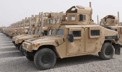 May 20, 2011 -- Humvees are still used in Operation New Dawn, but the mine resistant ambush protected vehicle and its ability to offer more protection to soldiers on convoys has reduced the humvee's role.
