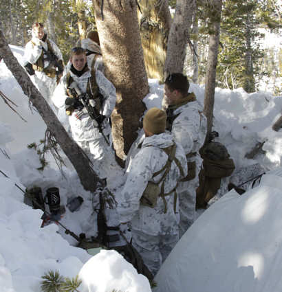 USA Patriotism!     Article > Snipers Overcome Harsh Terrain