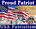 "Proud Patriot and supporter of USA Patriotism! . . . ""Showcasing Love and Pride of America"""