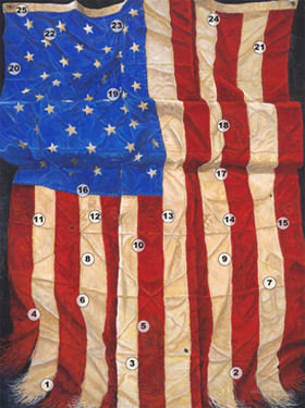 Impressions of Old Glory by Jack E. Dawson (Location of 25 Symbols)