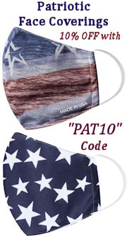 Patriotic Face Coverings