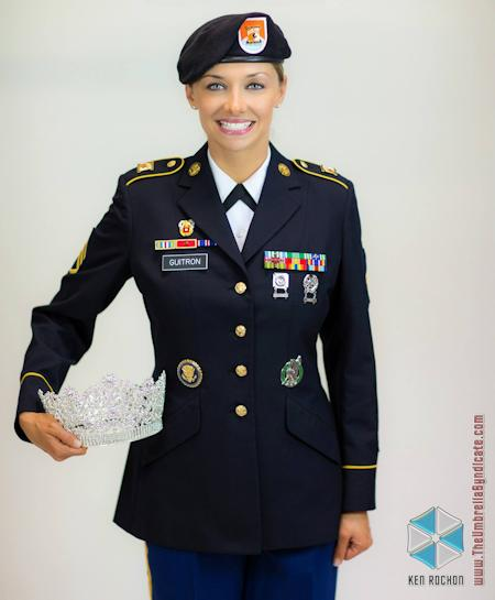 Amy Staff Sgt. Allaina Guitron, Ms. Veteran America 2014