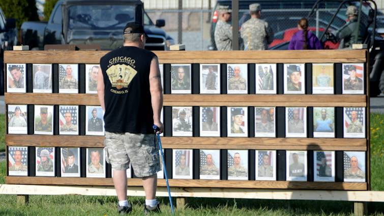 April 28, 2013 - The Pennsylvania National Guard has lost 53 soldiers supporting global contingency operations since Sept. 11, 2001. The 28-mile march is held annually to honor all service members who made the ultimate sacrifice. (U.S. Army  photo by Staff Sgt. Matthew Jones)