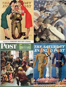 Home of the brave as seen through the eyes of Norman Rockwell