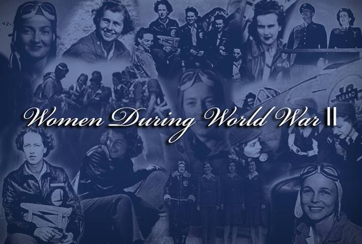 Women During World War II (Graphic by Sylvia Saab)