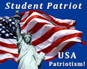 "Student Patriot and supporter of USA Patriotism! . . . ""Showcasing Love and Pride of America"""