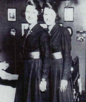 U.S. Coast Guard: Twin sisters Genevieve / Lucille Baker and Myrtle Hazard