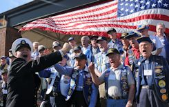 Navy WWII vets in 2009