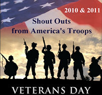 Veterans Day Shout Outs from America's Troops