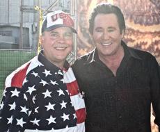 David Bancroft with legendary entertainer, Wayne Newton